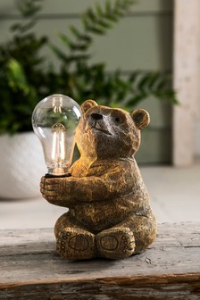 Barnaby Bear Solar Table Lamp