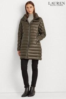Lauren Ralph Lauren® Olive Luxe Quilted Jacket