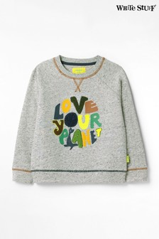 White Stuff Love Your Planet Jersey Sweater