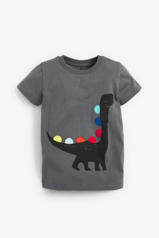 Short Sleeve Dino T-Shirt (3mths-7yrs)