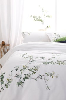 Jasmine Tree Duvet Cover and Pillowcase Set