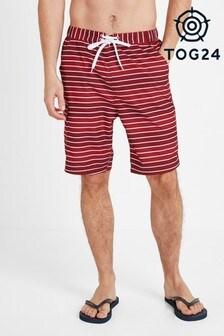 Tog 24 Red Cole Mens Stripe Board Shorts