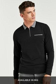 Long Sleeve Smart Polo
