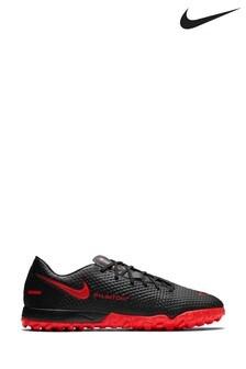 Nike Black Phantom Academy Turf Football Boots