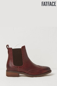 FatFace Purple Bude Chelsea Boots