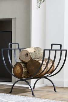 Wire Log Basket