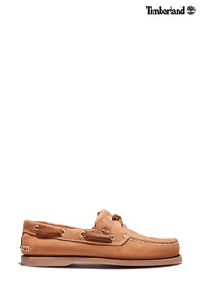Timberland® Tan Classic Boat Shoes