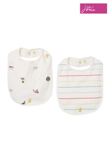 Joules White The Bib Two Pack
