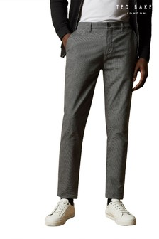 Ted Baker Satinee Slim Semi Plain Trousers