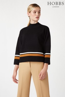 Hobbs Black Annie Sweater