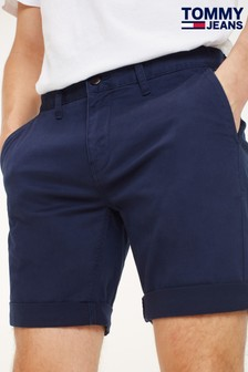 Tommy Jeans Blue Essential Chino Shorts