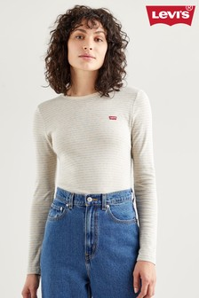 Levi's® Striped Baby Long Sleeve T-Shirt