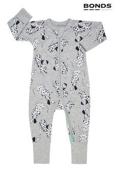 Bonds - Wondersuit - Babypakje in grijs met rits