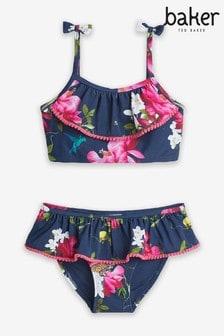 Baker by Ted Baker Girls Floral Bikini Set