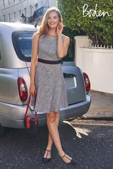 Boden Blue Matilda Textured Dress