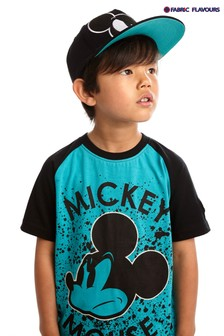 Fabric Flavours Blue Mickey Mouse™ Mode T-Shirt
