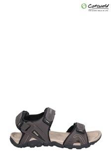 Cotswold Brown Rodmarton Touch Fasten Walking Sandals