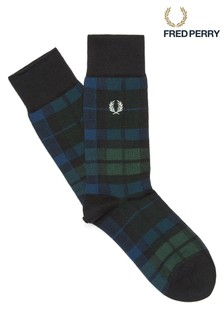 Fred Perry Tartan Socks
