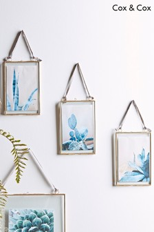 Set of 3 Cox & Cox Delicate Hanging Frames