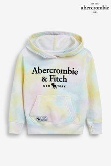 Abercrombie & Fitch Yellow Wash Hoodie
