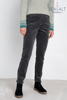 Seasalt Grey Lamledra Trousers