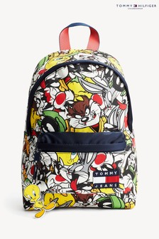 Tommy Hilfiger Looney Tunes All Over Print Backpack