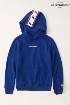 Abercrombie & Fitch Blue Tape Hoody