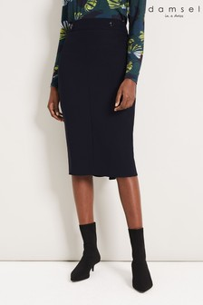 Damsel In A Dress Blue Margot City Suit Skirt