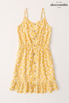 Abercrombie & Fitch Button Front Dress