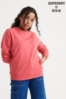 Superdry Organic Cotton Standard Label Loopback Sweatshirt