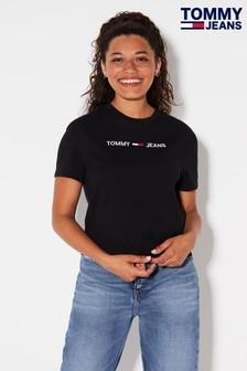 Tommy Jeans Modern Linear Logo T-Shirt