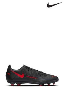 Nike Black/Red Phantom Club Multi Ground Football Boots