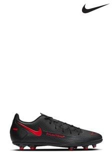 Nike Black/Red Phantom Club Multi Ground Football Boots