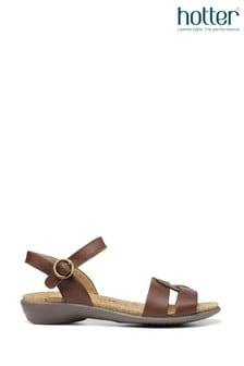 Hotter Island Buckle Fastening Sandals