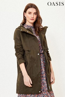 Oasis Green Lightweight Parka