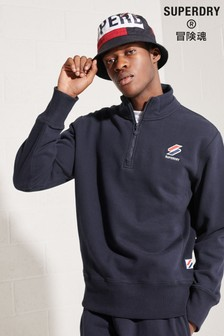 Superdry Sportstyle Essential Half Zip Jumper