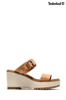 Timberland® Koralyn 2 Band Wedge Sandals