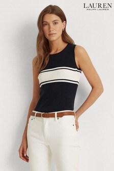 Lauren Ralph Lauren® Navy Sleeveless Danzya Jumper Vest
