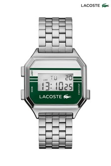 Lacoste Green Striped Berlin Digital Watch