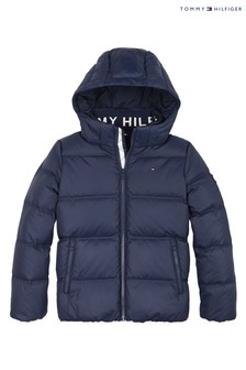Tommy Hilfiger Blue Essential Down Jacket