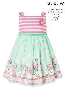 Monsoon Blue S.E.W. Baby Delilah Dress