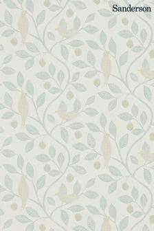 Sanderson Home Damson Tree Wallpaper