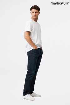 White Stuff Davis Straight Button Fly Jeans