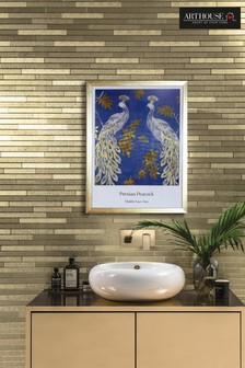 Persian Peacock Framed Print by Arthouse