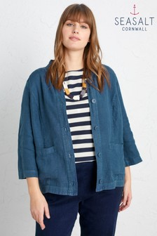 Seasalt Grey Bullfinch Jacket - Petite