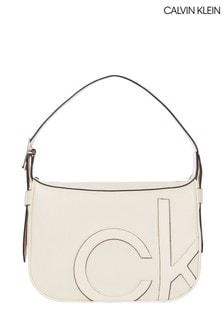 Calvin Klein Nude Medium Shoulder Bag
