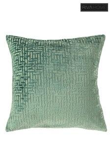 Delphi Jacquard Cushion by Riva Home