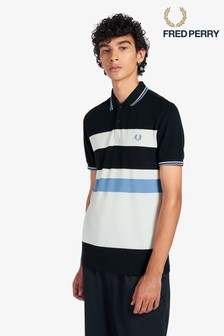 Fred Perry Block Stripe Poloshirt
