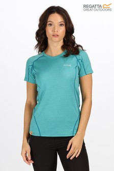 Regatta Blue Womens Tornell T-Shirt