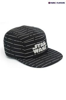 Fabric Flavours Black Star Wars™ Panel Cap